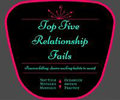 Top Five Relationship Fails